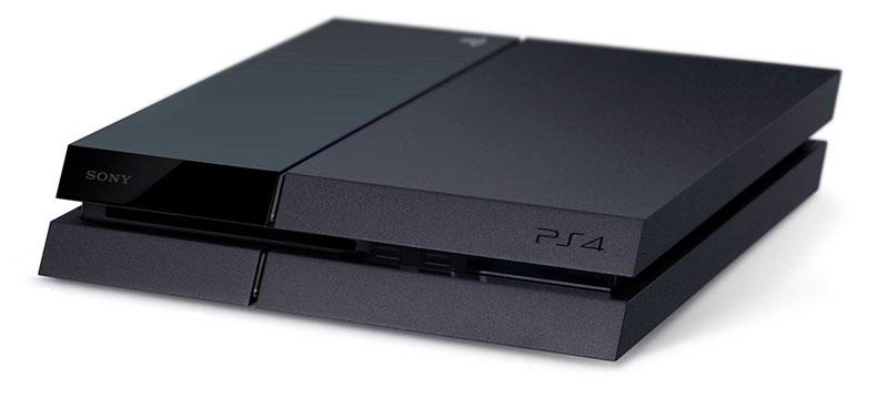Внешний вид консоли Playstation 4