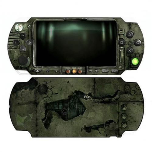 Виниловая наклейка «Бункер» (PSP 3000)