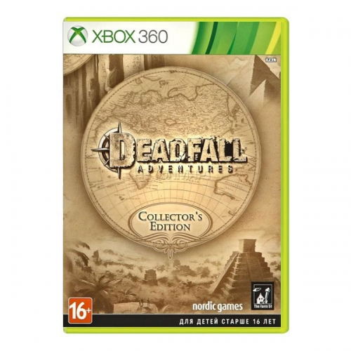 Deadfall Adventures. Collector's Edition (Xbox 360)