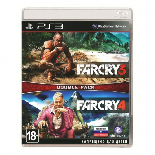 Комплект игр: Far Cry 3 + Far Cry 4 (PS3)