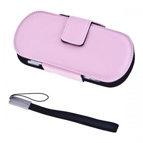 Защитный чехол Genuine Leatherette Case (Розовый)