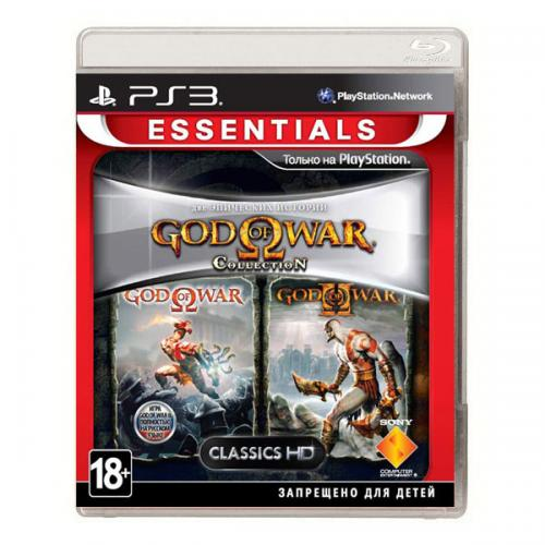 God of War. Collection 1 (PS3)