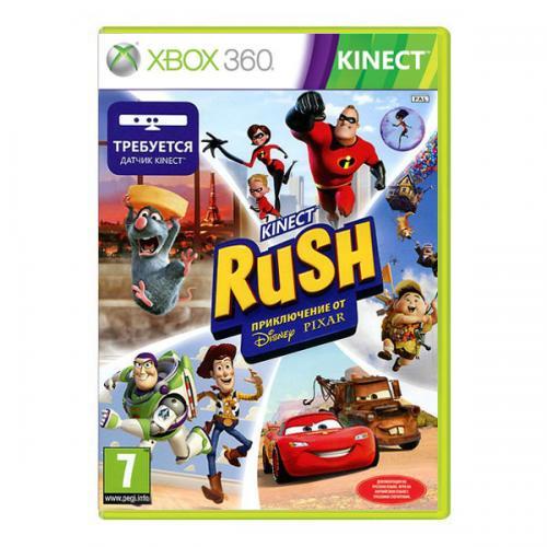 Kinect Rush. A Disney Pixar Adventure (Xbox 360)