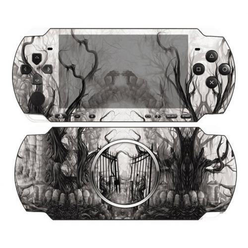 Виниловая наклейка «Кладбище» (PSP 3000)