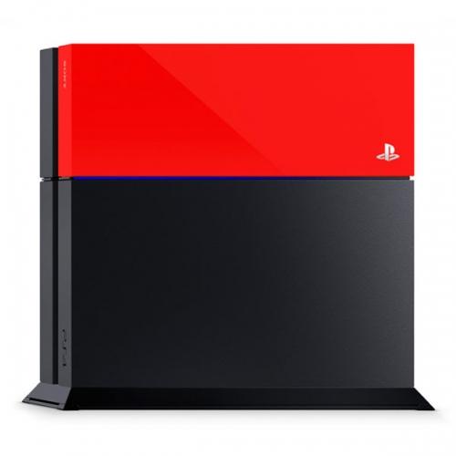 Лицевая панель Sony для PS4 (красная)