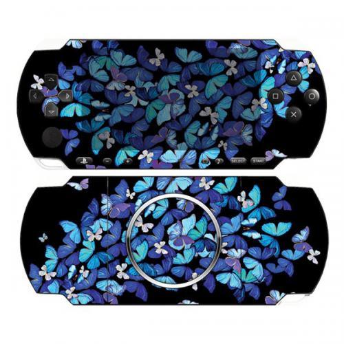 Виниловая наклейка «Бабочки» (PSP 3000)