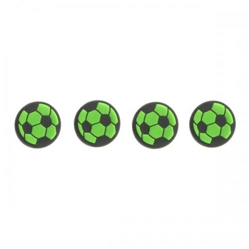 Насадки на стики «Soccer Ball» (Черно-зеленые)