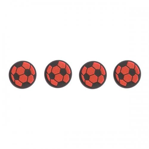 Насадки на стики «Soccer Ball» (Черно-красные)
