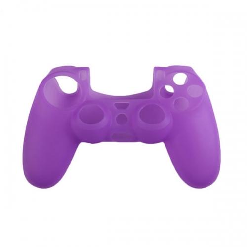 Силиконовый чехол для Dualshock 4 (Фиолетовый)