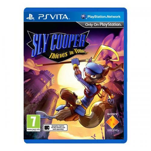 Sly Cooper Прыжок во времени (PS Vita)