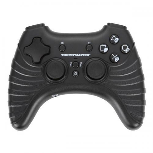 Контроллер Thrustmaster T-Wireless Black (PS3)