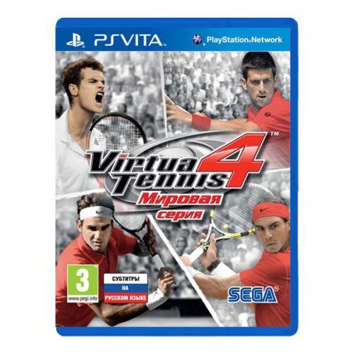 Virtua Tennis 4 Мировая серия (PS Vita)