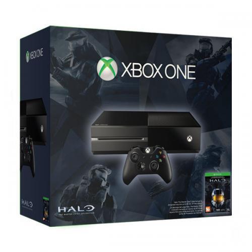 Xbox One 500Gb черный с игрой «Halo. The Master Chief Collection»