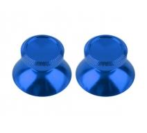 Алюминиевые аналоговые стики Dualshock 4 (Синие)