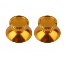 Алюминиевые аналоговые стики Dualshock 4 (Золотые)