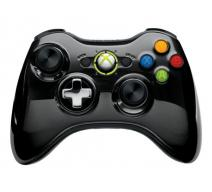 Wireless Controller for Xbox 360 (Chrome Black)