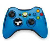 Геймпад Wireless Controller Chrome Blue (Xbox 360)