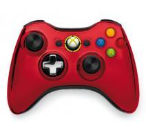 Геймпад Wireless Controller Chrome Red (Xbox 360)