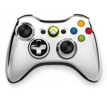 Геймпад Wireless Controller Chrome Silver (Xbox 360)