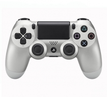 Геймпад Wireless DualShock 4 (CUH-ZCT1E) Cеребряный (PS4)