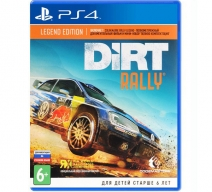 Dirt Rally. Legend Edition (PS4)