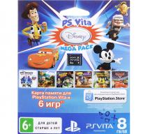 Код активации Disney Mega Pack + Карта памяти 8Gb (PS Vita)