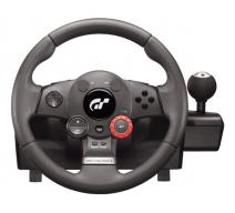 Руль с педалями Logitech Driving Force GT