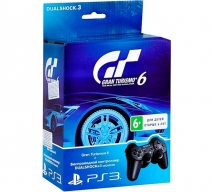 Геймпад Wireless Dualshock 3 с игрой «Gran Turismo 6»