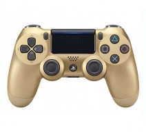 Геймпад Wireless DualShock 4 (CUH-ZCT2E) Золотой (PS4)