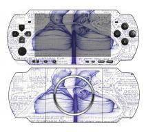 Виниловая наклейка «Кеды» (PSP 3000)