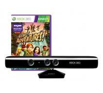 Сенсор Kinect + 5 игр Adventures (Xbox 360)