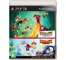 Комплект игр: Rayman Legends + Rayman Origins (PS3)