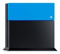 Лицевая панель Sony для PS4 (синяя)
