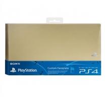 Лицевая панель Sony для PS4 (золотистая)