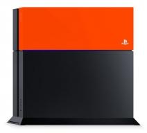 Лицевая панель Sony для PS4 (оранжевая)