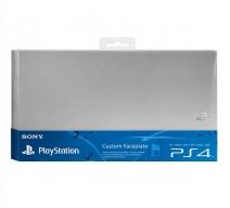 Лицевая панель Sony для PS4 (серебристая)