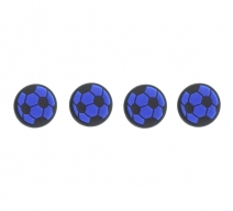 Насадки на стики «Soccer Ball» (Черно-синие)