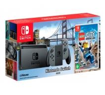 Nintendo Switch (серый) с игрой «LEGO City Undercover»