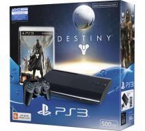 Playstation 3 Super Slim 500Gb черная с игрой «Destiny»