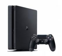 Playstation 4 1Tb Slim черная матовая (CUH-2008B)