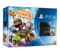 Playstation 4 (PS4) 500Gb черная + LittleBigPlanet 3