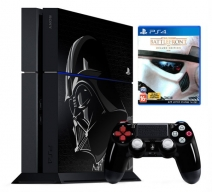 Playstation 4 1Tb черная с игрой «Star Wars. Batlefront. Deluxe Edition»