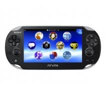 PS Vita 1108 3G/Wi-Fi (Черная) + карта памяти 4Gb + игра «Super Monkey Ball»  + игра «Сорванец»