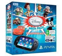 PS Vita 2008 Wifi + карта 16Gb + 6 игр
