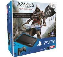 PS3 Super Slim 500Gb + Assassin's Creed 4