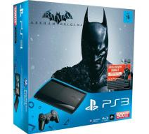 PS3 Super Slim 500Gb + Batman: Летопись Аркхема