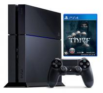 Sony Playstation 4 (500 Gb) + игра Thief