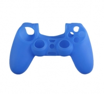 Силиконовый чехол для Dualshock 4 (Синий)