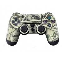Виниловая наклейка на Dualshock 4 «American Dollar's»