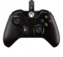 Беспроводной геймпад + кабель для Windows (Xbox One)